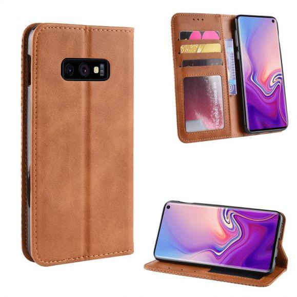 Samsung Galaxy S10e - Étui style cuir Le Cirénius