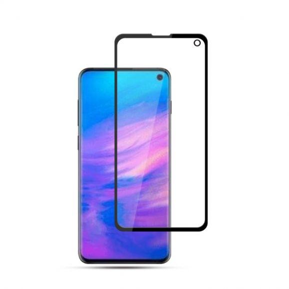 Samsung Galaxy S10e - Protection d'écran en verre trempé Full Size - Noir