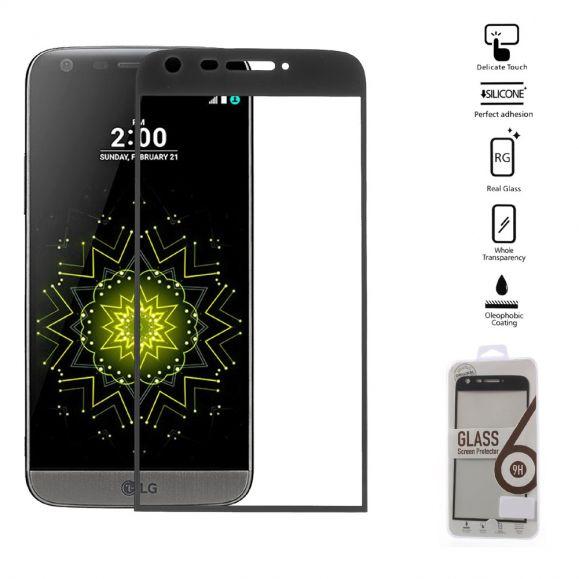 LG G5 - Protection d'écran en verre trempé Full Size - Noir