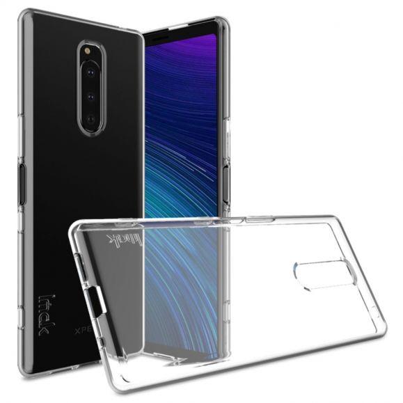 Coque transparente ultra souple pour Sony Xperia 1