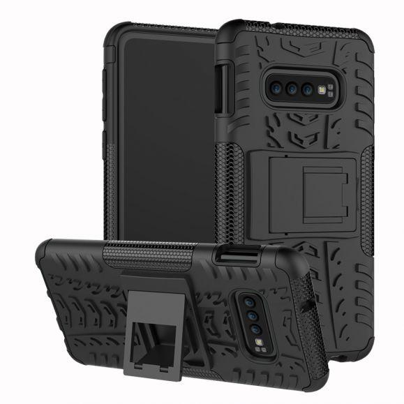 Samsung Galaxy S10e - Coque antidérapante avec support intégré