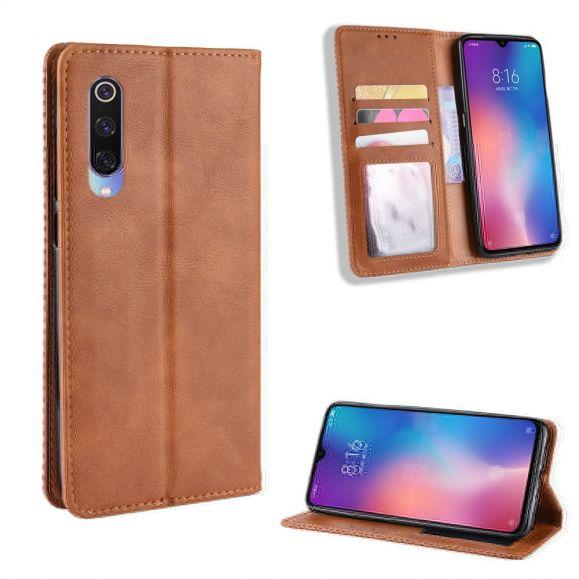 Xiaomi Mi 9 - Étui style cuir Le Cirénius
