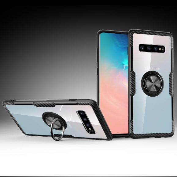 Samsung Galaxy S10 - Coque transparente finger