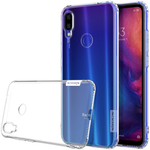 Xiaomi Redmi Note 7 - Coque gel nature transparente