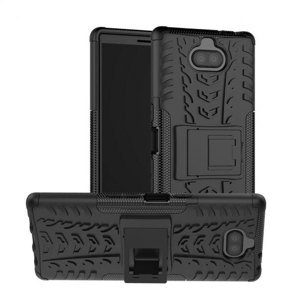 Sony Xperia 10 Plus - Coque antidérapante avec support intégré