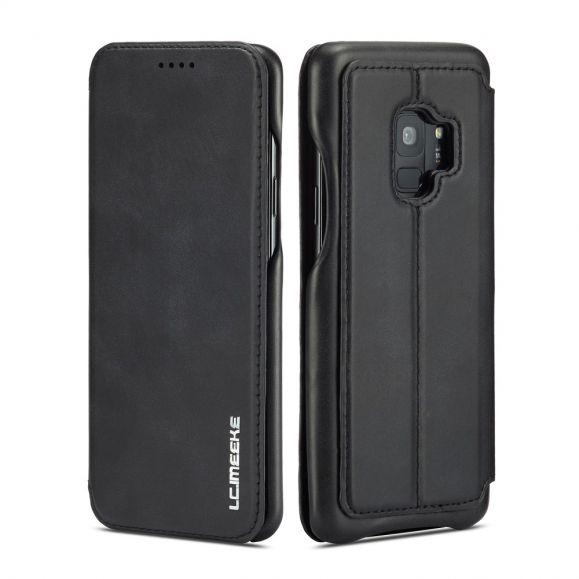 Samsung Galaxy S9 - Coque avec rabat simili cuir