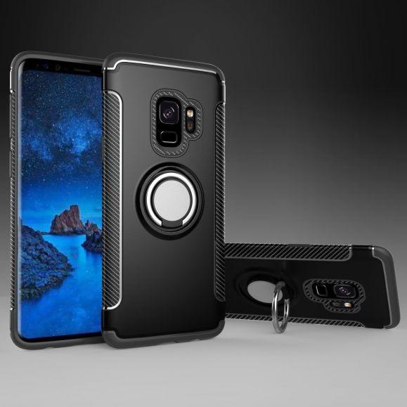 Samsung Galaxy S9 - Coque armor avec bague