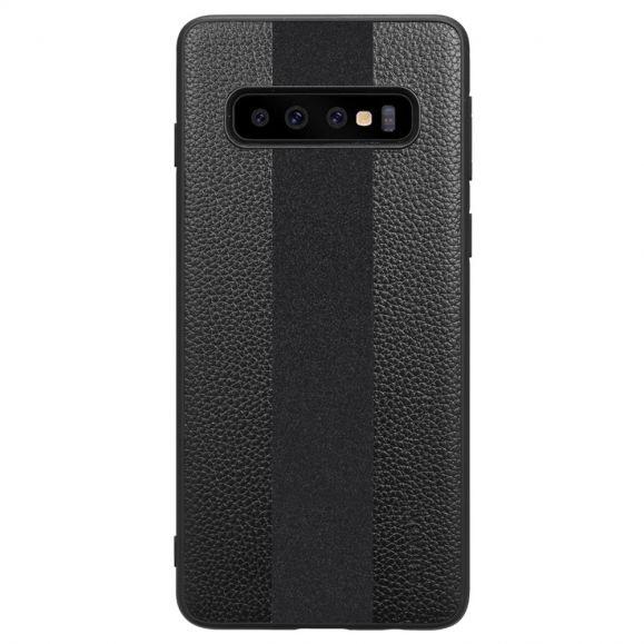 Samsung Galaxy S10e - Coque simili cuir sport