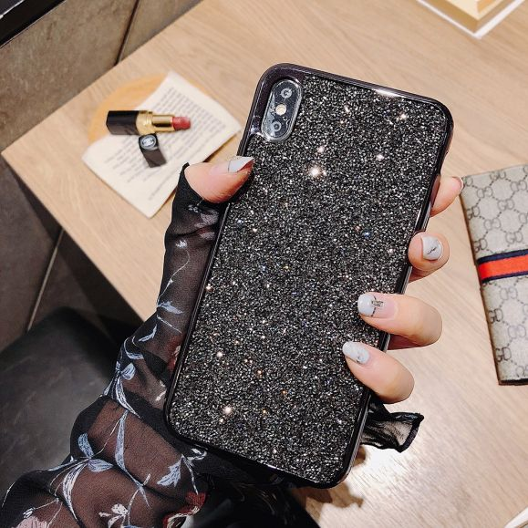 iPhone X / XS - Coque à paillettes glamour