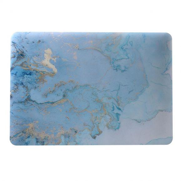 MacBook Air 13 pouces - Coque motif marbre bleu clair