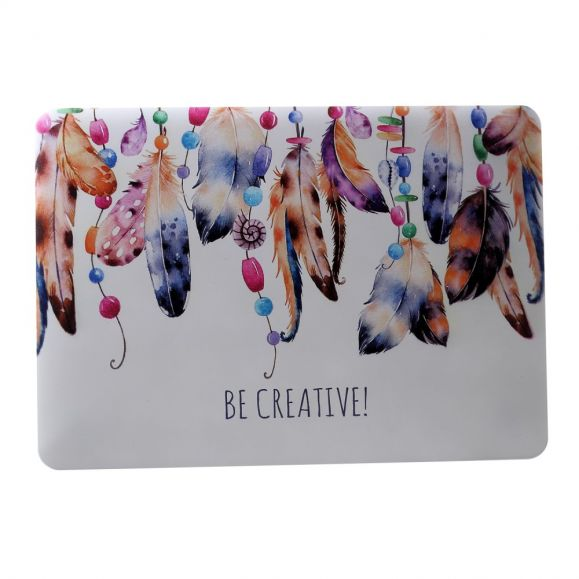 MacBook Air 13 pouces - Coque plumes colorées Be Creative