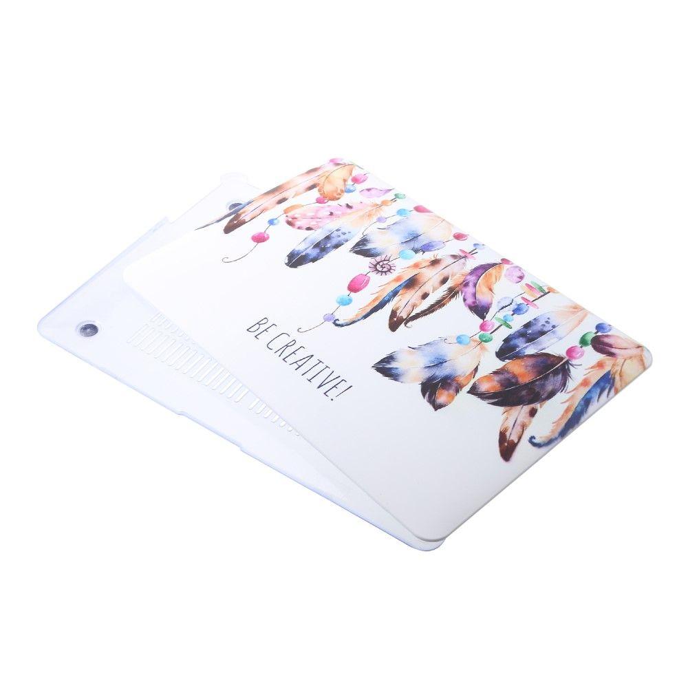 macbook air 13 pouces coque plumes color es be creative