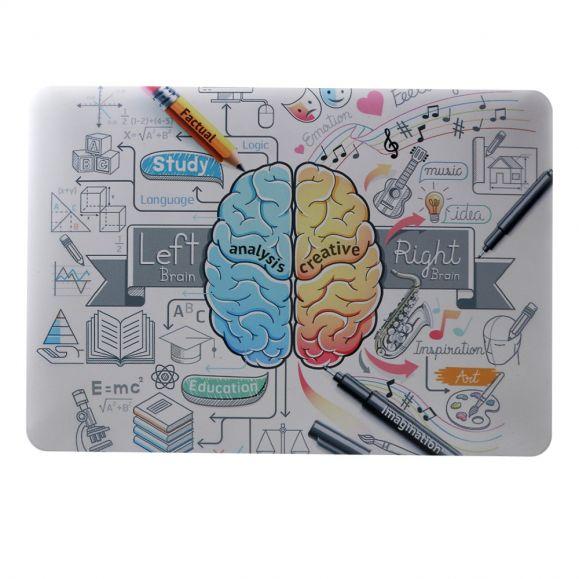 MacBook Air 13 pouces - Coque motif cerveau créatif