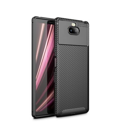 Sony Xperia 10 Plus - Coque Karbon Classy