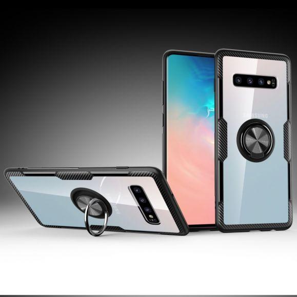 Samsung Galaxy S10 Plus - Coque transparente finger