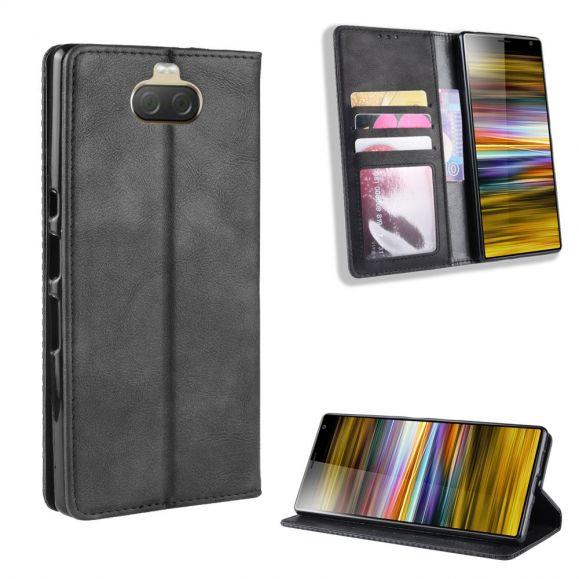 Sony Xperia 10 Plus - Étui style cuir Le Cirénius