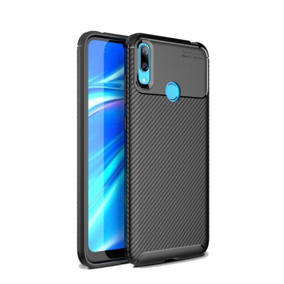 Coque noire Huawei Y7 2019 Karbon Classy
