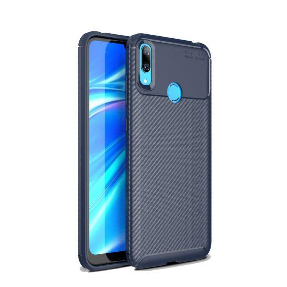 Coque bleue Huawei Y7 2019 Karbon Classy