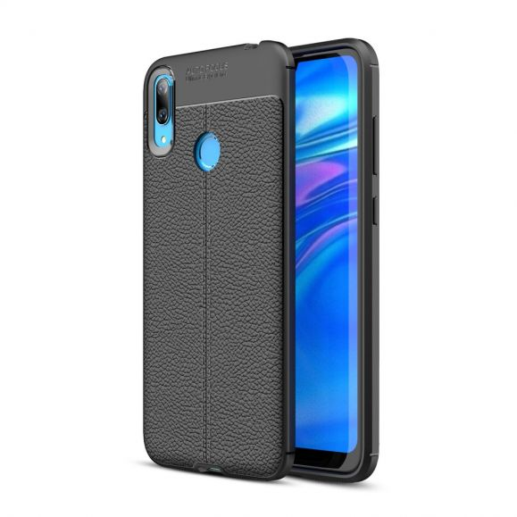 Huawei Y7 2019 - Coque gel finition simili cuir