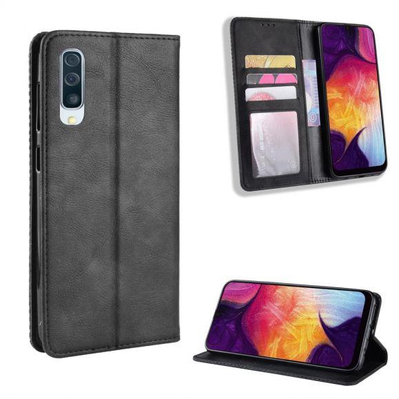 Samsung Galaxy A50 - Étui style cuir Le Cirénius