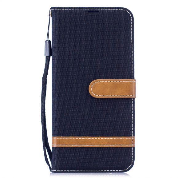 Xiaomi Redmi Note 7 - Housse revêtement tissu porte cartes