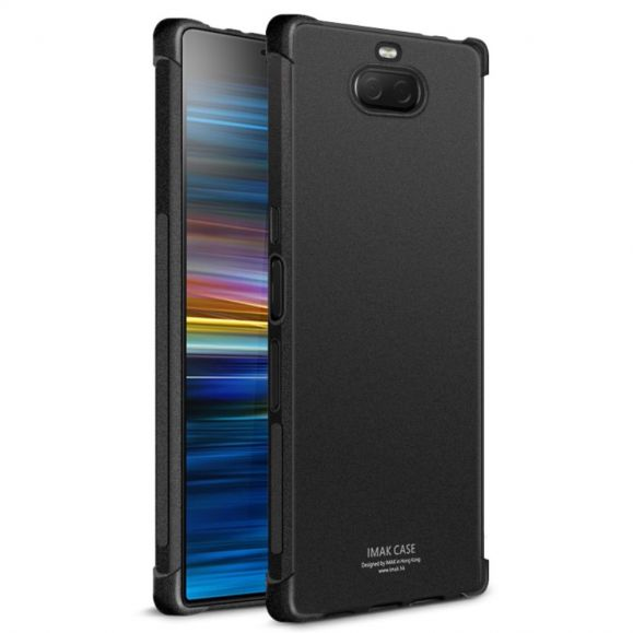 Sony Xperia 10 Plus - Coque noire mat Class Protect
