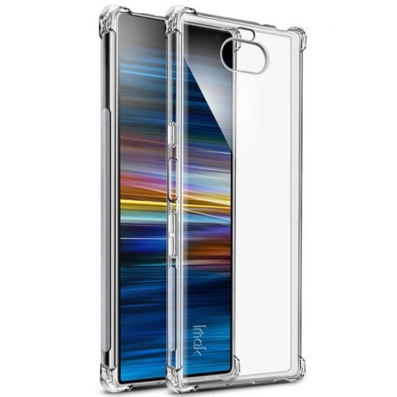Sony Xperia 10 Plus - Coque transparente Class Protect + film protecteur