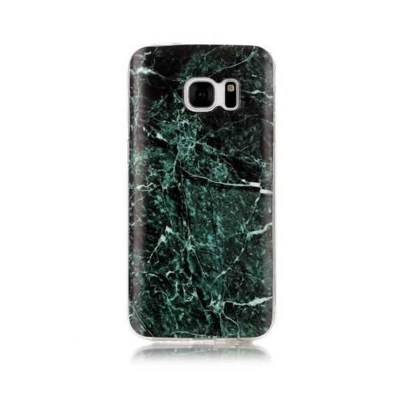 Coque Samsung Galaxy S7 Marbre - Vert