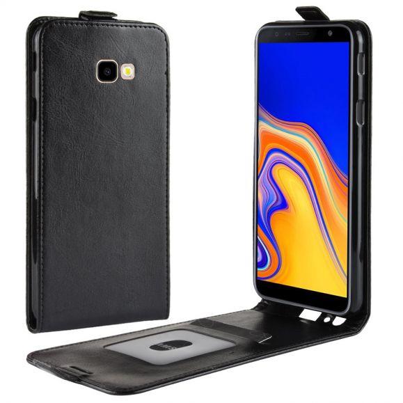 Samsung Galaxy J4 Plus - Étui simili cuir avec rabat verticale