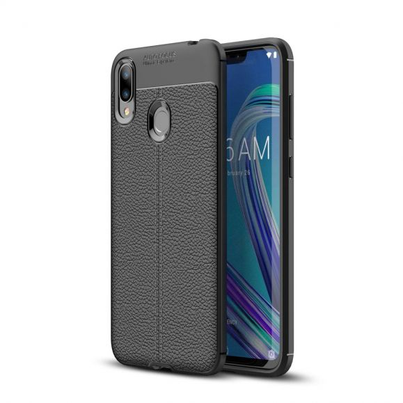 Asus Zenfone Max M2 - Coque gel finition simili cuir