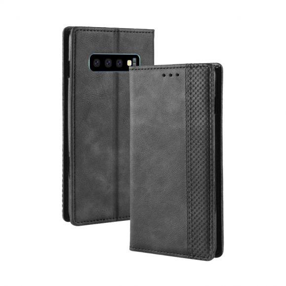 Samsung Galaxy S10 - Étui avec rabat Le Cirénius porte cartes