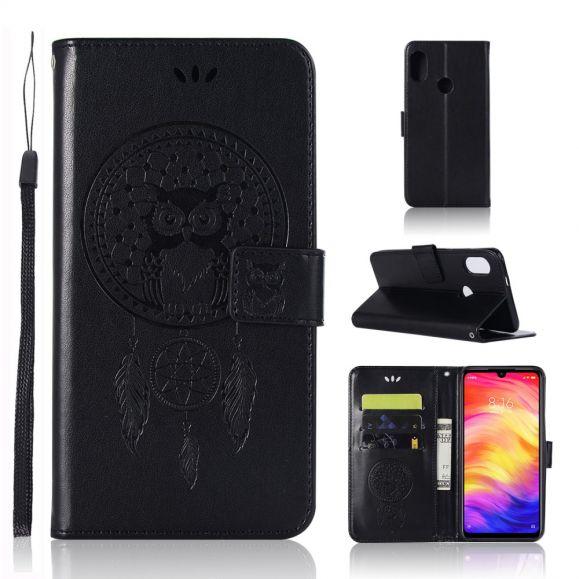 Xiaomi Redmi Note 7 - Étui hibou attrape rêves