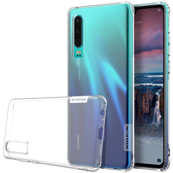 Huawei P30 - Coque gel nature transparente