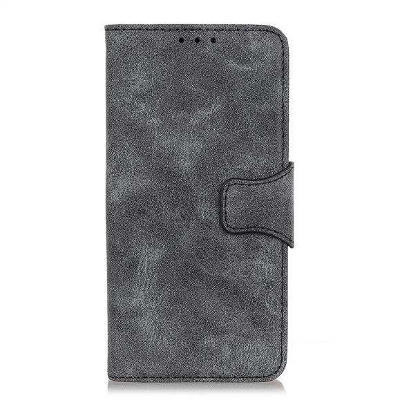 Samsung Galaxy A40 - Étui Edouard simili cuir vintage
