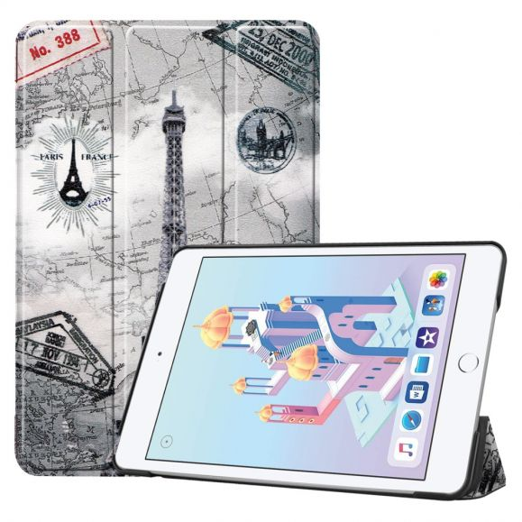 iPad mini 2019 - Coque avec rabat intelligent Tour Eiffel