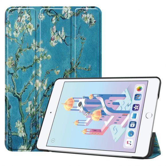 iPad mini 2019 - Coque avec rabat intelligent Amandier en fleurs