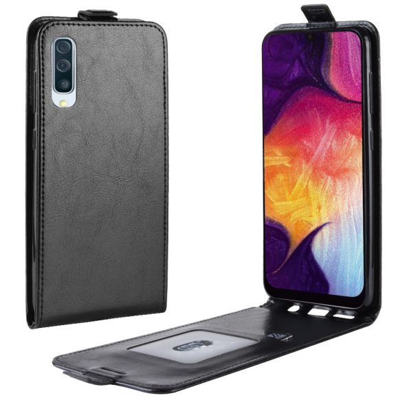 Samsung Galaxy A50 - Étui simili cuir avec rabat verticale
