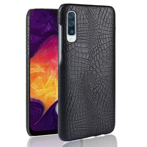 Samsung Galaxy A50 - Coque effet cuir texture peau de crocodile