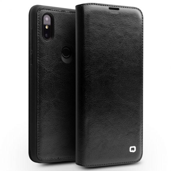 Xiaomi Mi Mix 3 - Etui fait main en cuir véritable