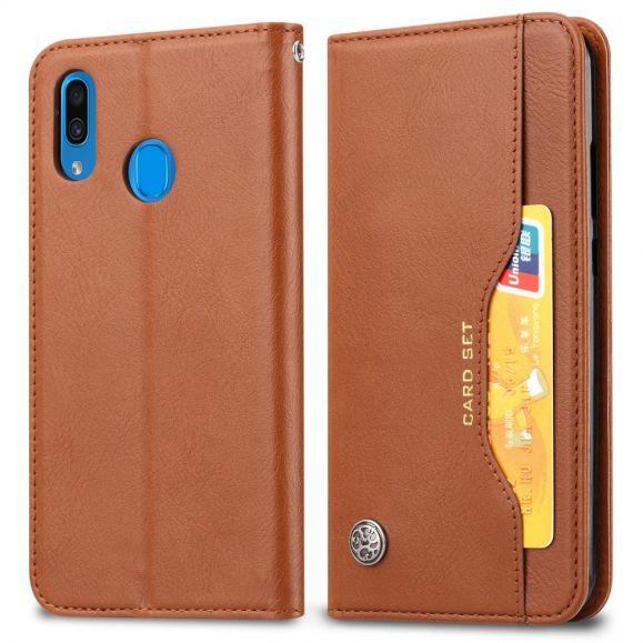 Samsung Galaxy A40 - Housse cuir stand case