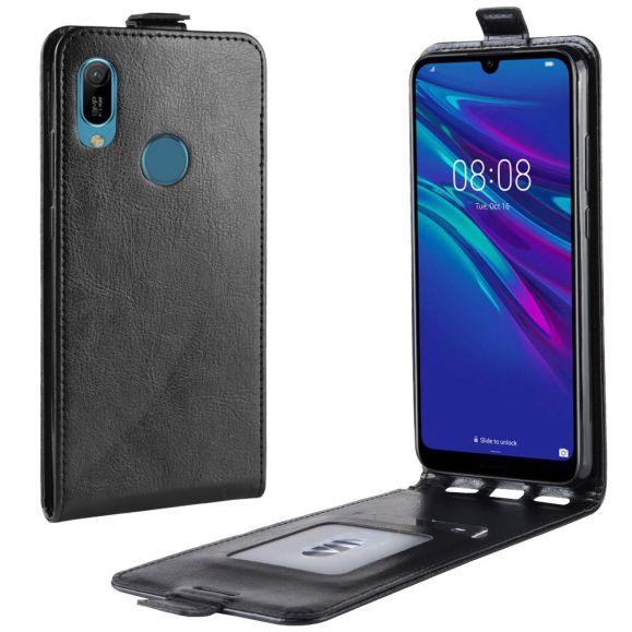 Huawei Y6 2019 - Étui simili cuir avec rabat verticale