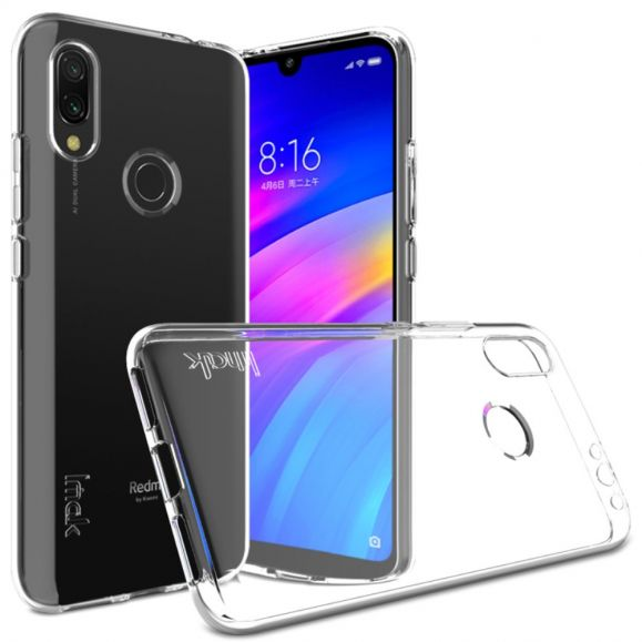 Xiaomi Redmi 7 - Coque transparente IMAK ultra souple