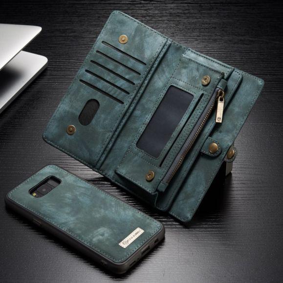 Samsung Galaxy S8 Plus - Coque et housse porte cartes 2-en-1 - Vert