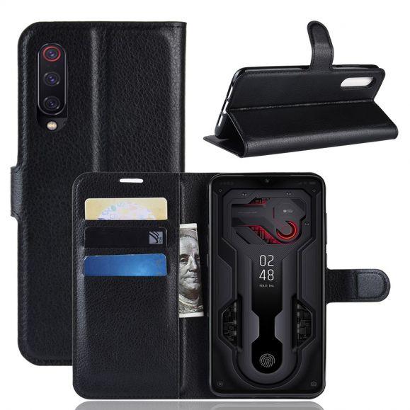 Xiaomi Mi 9 - Étui style cuir porte cartes