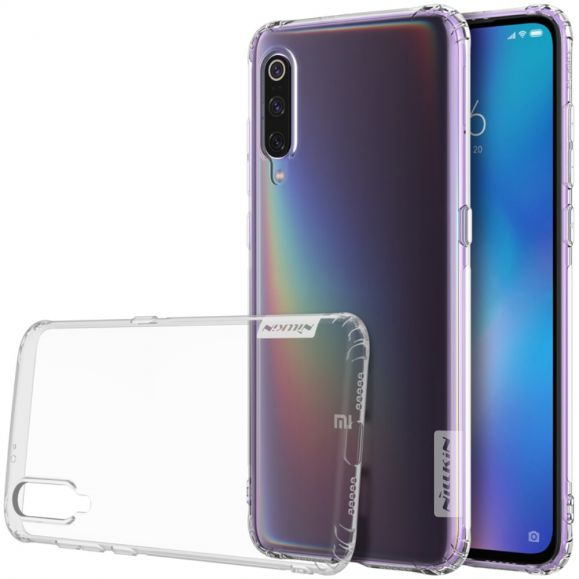 Xiaomi Mi 9 - Coque gel nature transparente