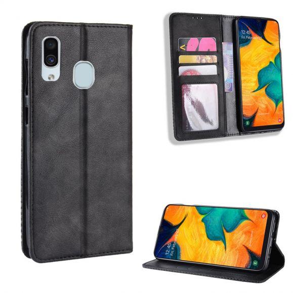 Samsung Galaxy A40 - Étui style cuir Le Cirénius