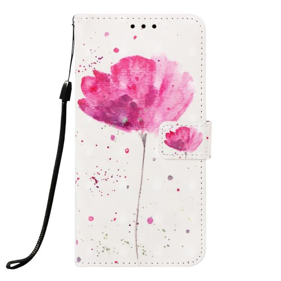 Samsung Galaxy A40 - Housse Pink flower
