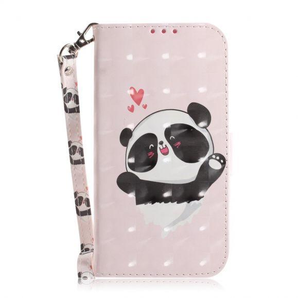 Samsung Galaxy A50 - Étui à lanière mignon panda