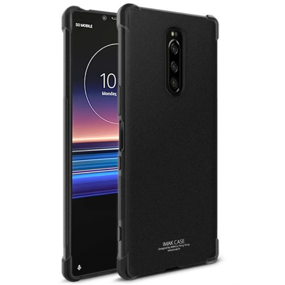 Sony Xperia 1 - Coque class protect - Noir mat
