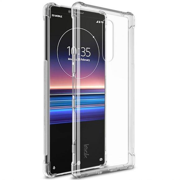 Sony Xperia 1 - Coque transparente Class Protect + film protecteur